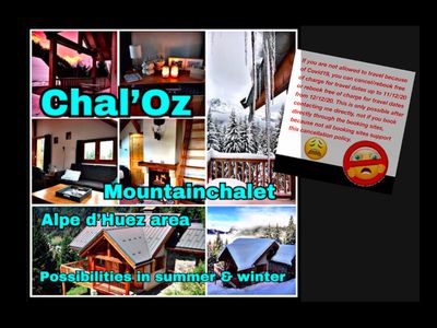 Photo for Chal'Oz, comfortable chalet on the ski slope