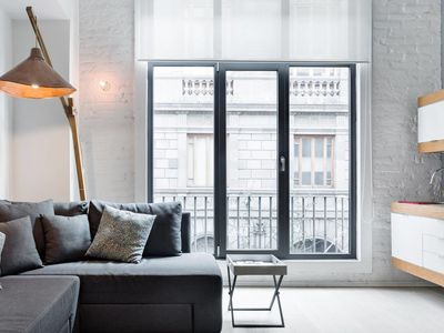 Photo for Soak up the City Vibe at a Chic Loft in a Historic Building