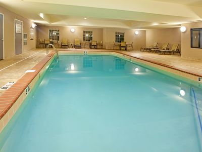 Photo for 20 Minutes to the University of Notre Dame | Free Wi-Fi, Free Breakfast + Indoor Pool