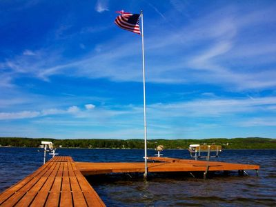Photo for Home for 10 on Lake Charlevoix