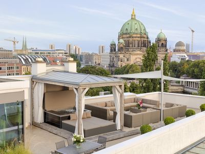 Photo for Luxurious Penthouse w. gorgeous views, private sauna & whirlpool on roof terrace