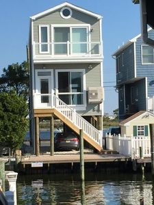 Photo for Pristine home on the bay!.  Magnificent views and close to beach and boardwalk