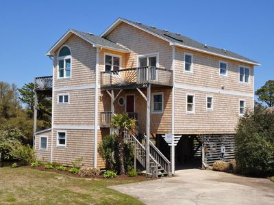 Photo for 488 - Nags Head Water-Front Rental with Hot Tub, Community Pool Access, and Newly Renovated!