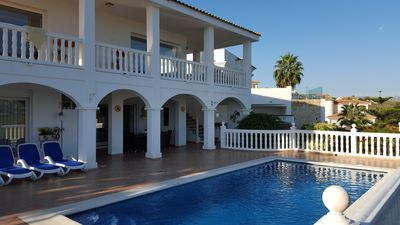 Photo for Lovely Villa with Terraces, Beautiful Views and Private Pool 3 Bedroom/Bathroom