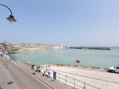 Photo for St Ives - On Harbour Front, 2 x en-suite Bedrooms, Guaranteed Parking