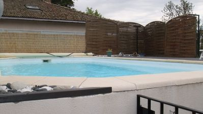 Photo for The Cellier House with swimming pool and 200 meters from the Hospices de Beaune