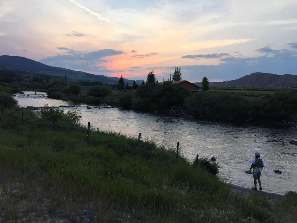 Private fly fishing wind river near yellowstone and grand for Fishing in the wind