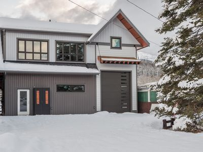 Photo for NEW! Private hot tub and mountain views! Close to the ski hill & town!