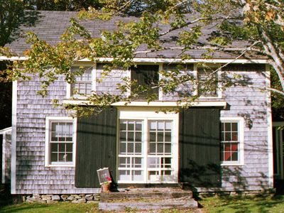 Photo for Early American Barn-Charming Salt Water Cottage In Historic Cushing, Maine