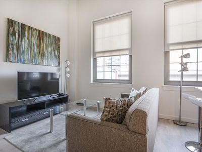 Photo for Bright Studio | Downtown Boston | Walking distance to T | by GLS