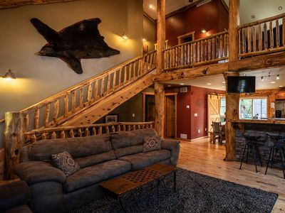 Amazing 5Br Cabin Vacation Rental In Wisconsin Dells Wisconsin Beutiful Home Inspiration Aditmahrainfo
