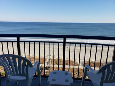Photo for Oceanfront One Bedroom Condo with Two Full Baths at Boardwalk Resort~Unit 1030