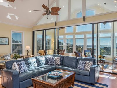 Photo for Tremendous Fripp Island Home w/ Ocean View. Game Room, & Golf Cart, great for Groups