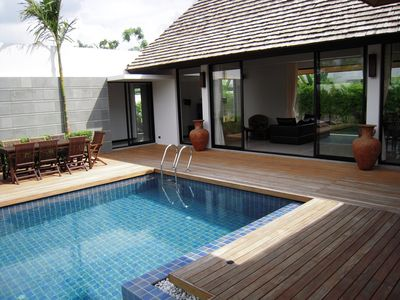 Photo for Private Pool Villa: Near to Bangtao Beach, Set In Lush Tropical Garden