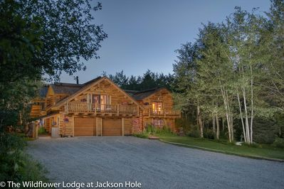 The Wildflower is a Large Luxury Home on 3 acres with plenty of parking