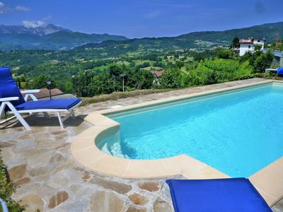 Photo for NEW Montepigoli, private pool, stunning views, walk to restaurants/village,WIFI!