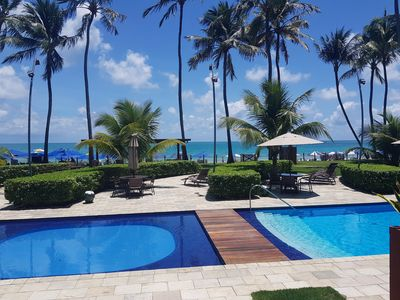 Photo for Flat SEASIDE in Porto de Galinhas, near the natural pools and restaurants
