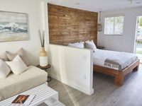 """Immaculate new """"cabanas"""" in a great location. Modern and chic decor. Great for a couple."""