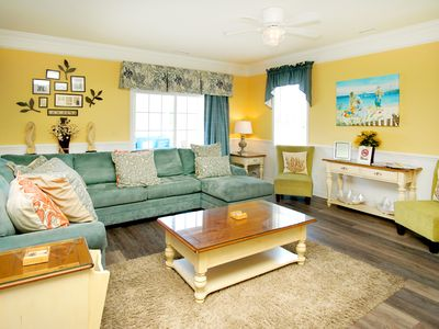 Photo for Bermuda Breeze, EIGHT bedroom North Myrtle Beach villa with game room and pool.