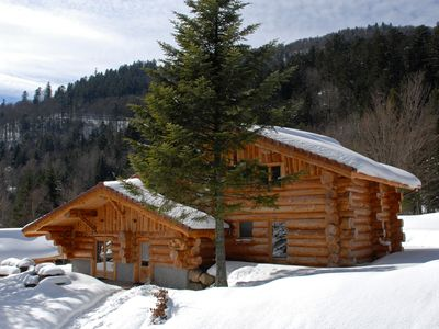 Photo for Unique in La Bresse chalet of 220 m², group, family, wifi, near slopes