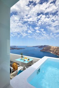 Photo for Deck Suite Santorini with Private Pool and Panoramic Views