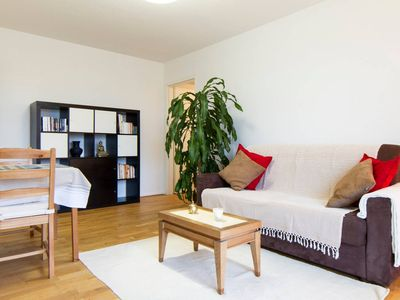 Photo for Charming apartment facing Meaux beach and near Disneyland Paris