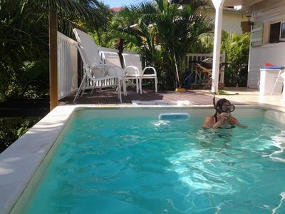 Photo for LES SAINTES, for rent charming house with swimming pool
