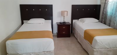 Photo for Hotel like rooms in a Residential area. Rooms with private bathroom.
