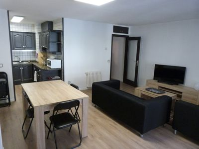Photo for Large 2 bedroom apartment, 4 people in Encamp