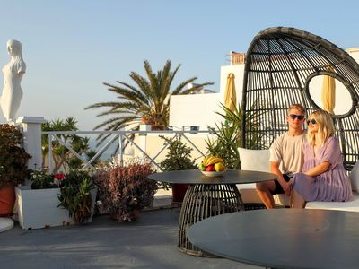 Photo for SUNSET STUDIO, open view from terrace!