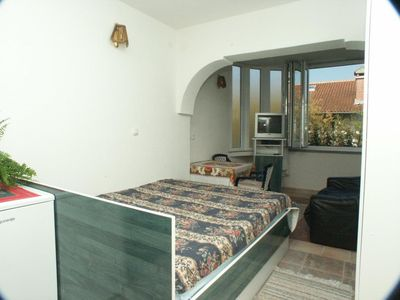 Photo for Studio flat with air-conditioning Rovinj (AS-2243-c)