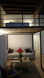 Photo for 45m2 charming 1-room apartment with mezzanine in the old city center