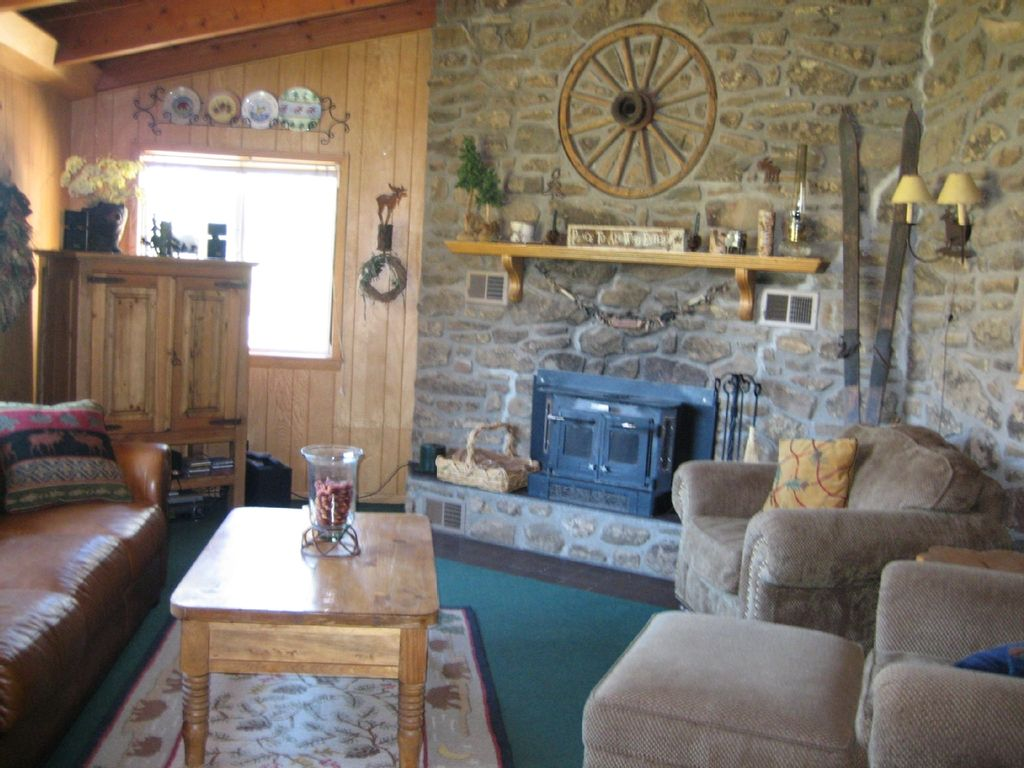 Ranch Living Room Scenic Mountain Ranch Bordering National Homeaway Pagosa Springs