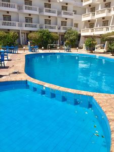 Photo for Great location at central hurghada. Room in a special compound, central hurghada