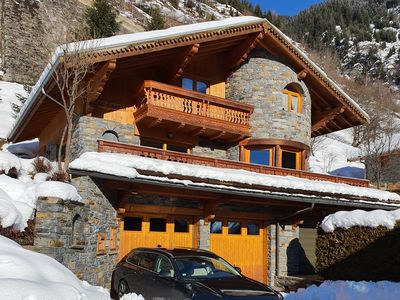 Photo for Beautiful chalet with exceptional view