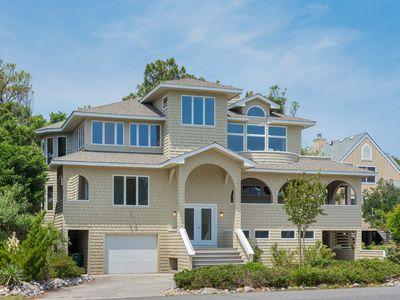 Photo for Island Time: Corolla Light community, community pool,  oceanside and a short walk to the beach!