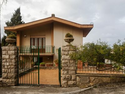 Photo for Charming home w/ terrace, panoramic views, Ping-Pong & fireplace!