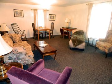 Stay at the Rural Retreat Winery Suite and overlook the Historic Depot