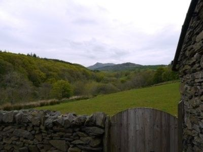 Valley view from cottage