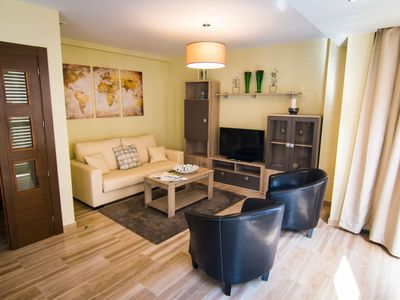 Photo for Uncibay apartment in Centro with WiFi, air conditioning, balcony & lift.