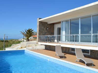 Photo for Amazing new Detached villa on beach with private pool, BBQ, full air-con & Wif