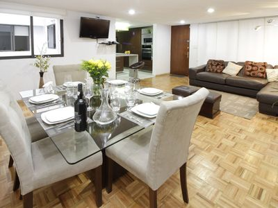 Photo for Beautiful apartment ideal for executives, families, the best zone of Mexico City