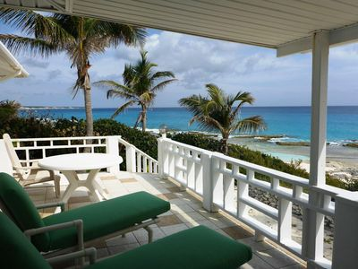 Photo for Beach & Ocean Front property- with serene, tranquil, island living