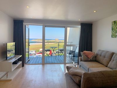 Photo for Ocean gate 7 is a beautiful apartment overlooking Fistral Beach