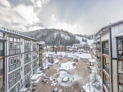 Photo for Walk to the slopes from this Founders Point 2 BD/ 2BA with AWESOME views!