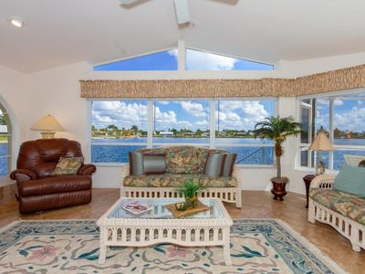 Photo for SW Cape Coral | Freshwater | Cozy waterfront house with pool & wet bar