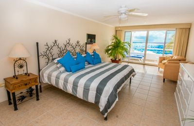 Photo for Miramar #203, Beautiful Oceanfront 1 bdrm condo, North Shore, Great Snorkeling!