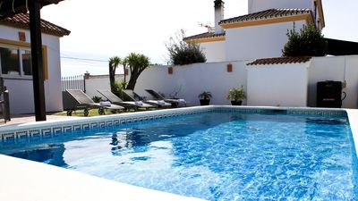 Photo for Luxury Villa. Jacuzzi, Multi Gym, Private Pool, Secure Parking, Central.