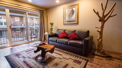 Photo for California Western Styled Decor in this cozy 1 bedroom Condo located on the top of Main Street