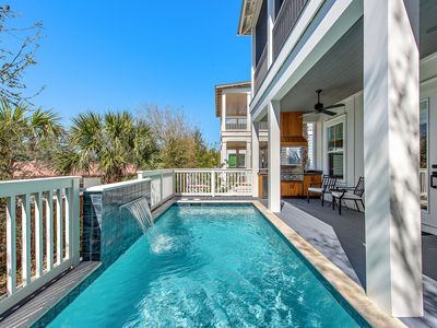 Photo for Luxury on 30a! Private Pool! Outdoor Grill Oasis! Minutes to Beach!